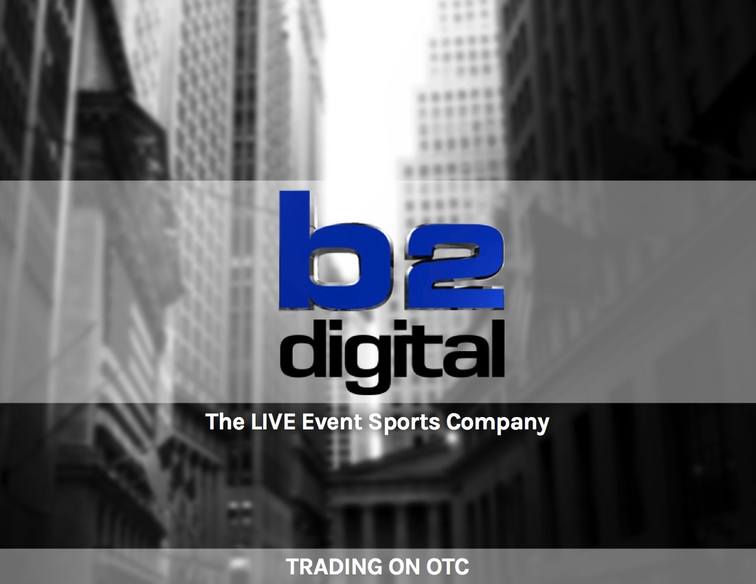 B2Digital Provides Updated Unaudited Live Event Performance Data Featuring Strong